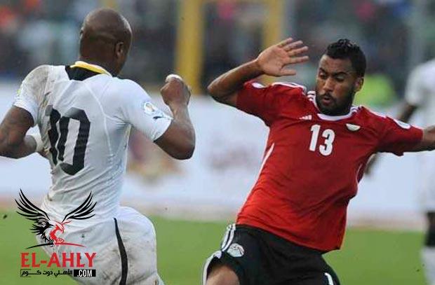 كوبر يتابع حسام عاشور قبل معسكر مباراة تونس