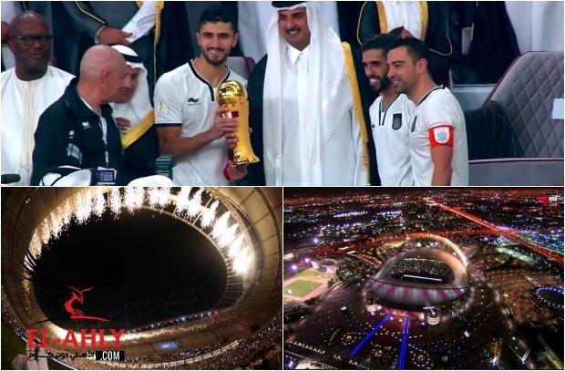 """في إفتتاح """"عالمي"""" لملعب خليفة .. السد يتوج بلقب كأس أمير قطر"""