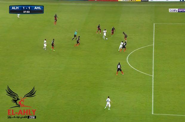 عبدالشافي يصنع هدف التعادل لأهلي جدة بدوري أبطال أسيا