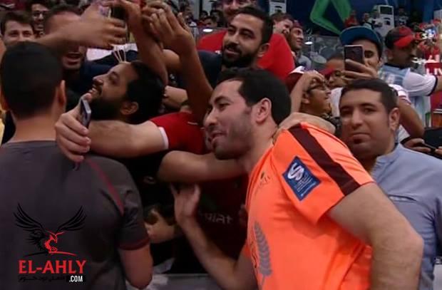 استقبال حافل لابوتريكة في الكويت