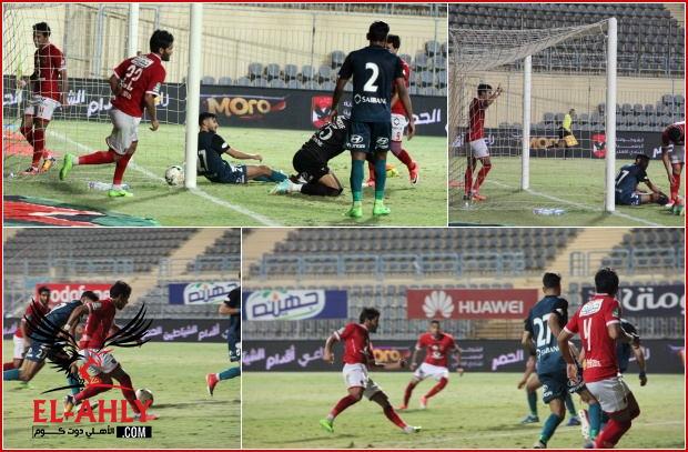 """شاهد تألق """"صالح-حمودي"""" في صور هدفي الأهلي أمام إنبي"""