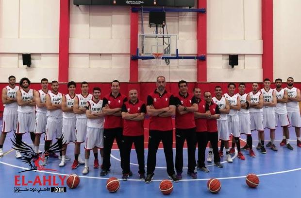 لاعب واحد فقط من الأهلي في قائمة مصر النهائية لمونديال الشباب لكرة السلة