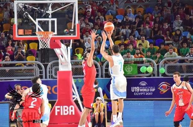 كأس العالم لكرة السلة: الأرجنتين تهزم مصر وتتأهل لمواجهة أسبانيا في ربع نهائي