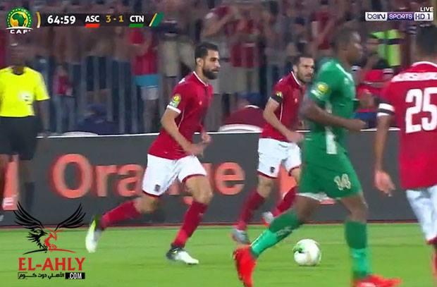 """الأهلي إلى ربع نهائي دوري أبطال أفريقيا بفوز """"سهل"""" على القطن"""
