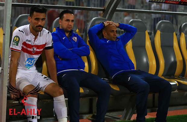 بعد هجوم مرتضى منصور .. مدرب الزمالك يبكي على الهواء ويعتزل التدريب