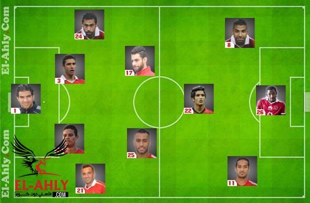 إلعب مع El-Ahly.com واختار تشكيل الأهلي لمباراة الزمالك بالدوري
