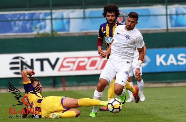 في مباراة ودية: شاهد تريزيجيه يسجل أولى أهدافه مع فريقه الجديد قاسم باشا