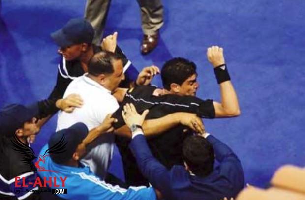"""اتحاد الكرة في بيان رسمي: ما حدث تجاه إبراهيم نور الدين """"سلوك غير أخلاقي"""" وسيتم تطبيق القانون"""