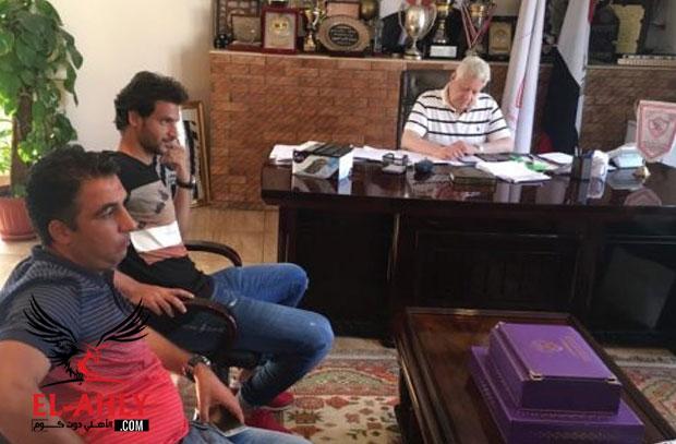 الزمالك يعلن رسمياً التوقيع مع محمود علاء قبل التوصل لإتفاق نهائي مع دجلة