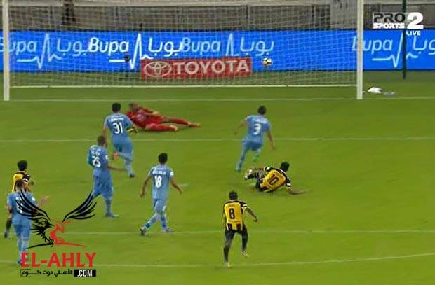 شاهد كهربا يفتتح أهداف إتحاد جدة في الدوري السعودي
