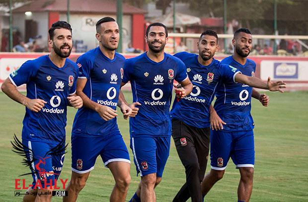 مران الأهلي: إصابة خفيفة لأكرم توفيق وتدريب على ركلات الجزاء قبل نهائي كأس مصر