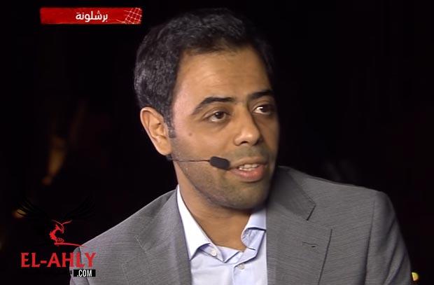 فهد العتيبي عن تشجيع الأهلي والزمالك والفرق السعودية: مش متابع والله
