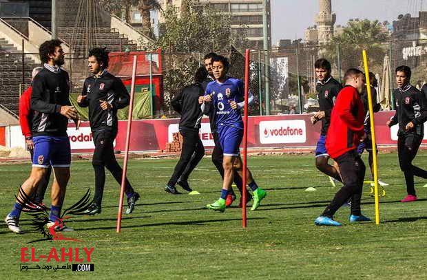 مران اليوم: البدري يعنف اللاعبين بسبب الخشونة .. وتناول السوائل بسبب الإغماءات
