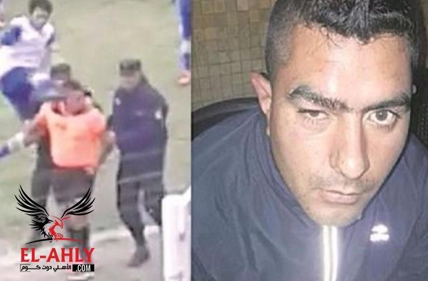 فيديو.. اعتداء وحشي على حكم بالدوري الأرجنتيني