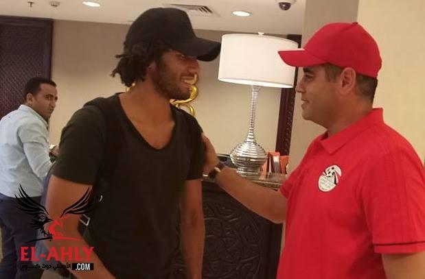 النني على رأس ثلاثي المحترفين المنضمين لمعسكر منتخب مصر
