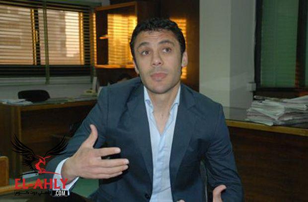 أحمد حسن: عبد الله السعيد ساهم في عدم احتساب ركلة جزاء للأهلي
