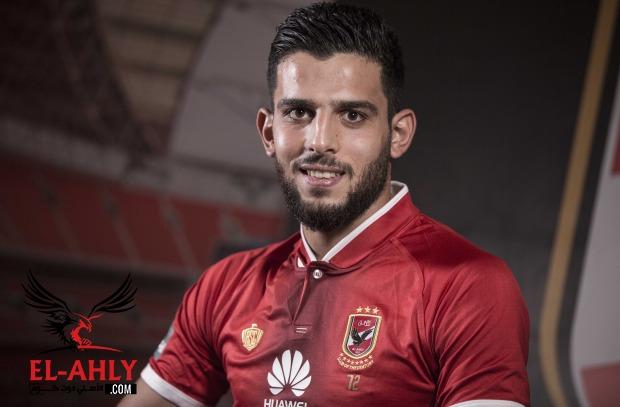 عبد الله الشامي يرتدي رقم غريب مع الأهلي