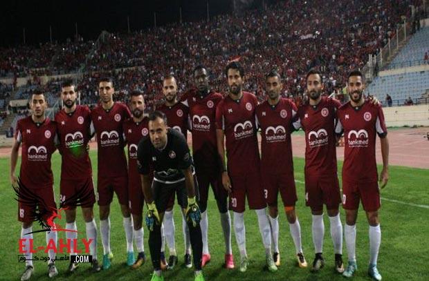محمود فتح الله يسجل هدف النجمه في خسارة مذلة بخماسية امام الانصار