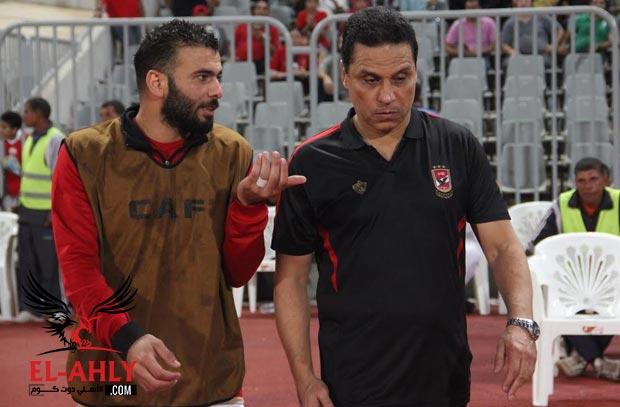 شاهد رد فعل عماد متعب بعد نهاية مباراة الأزمة