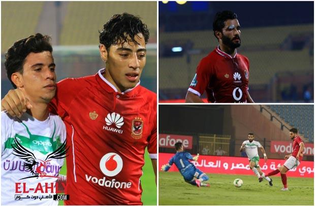 شاهد فرص أزارو وإصابة صالح وحزن الحناوي في صور فوز الأهلي على الإتحاد