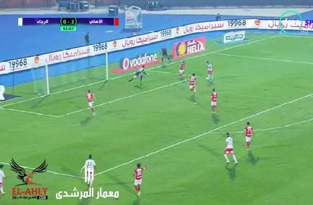 بعد صيام 414 دقيقة .. الرجاء يفتتح أهدافه بالدوري الممتاز في شباك الأهلي
