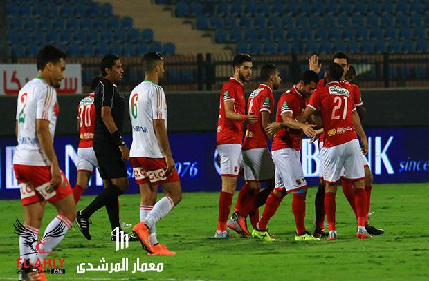 الأهلي يختتم استعداداته للنجم الساحلي بالفوز على الرجاء برباعية في الدوري الممتاز