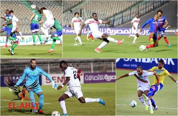 13 هدف والسعيد يواصل صدارته لهدافي الدوري في ملخص الجولة الثامنة