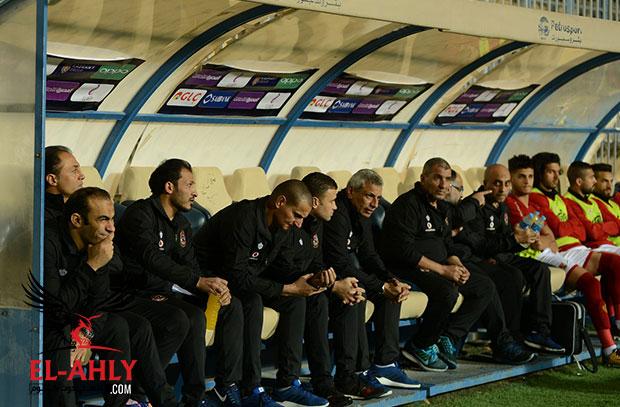مدرب الأهلي: استبعاد الشامي وجهة نظر فنية وحمودي قدم مباراة جيدة وواجه سوء توفيق