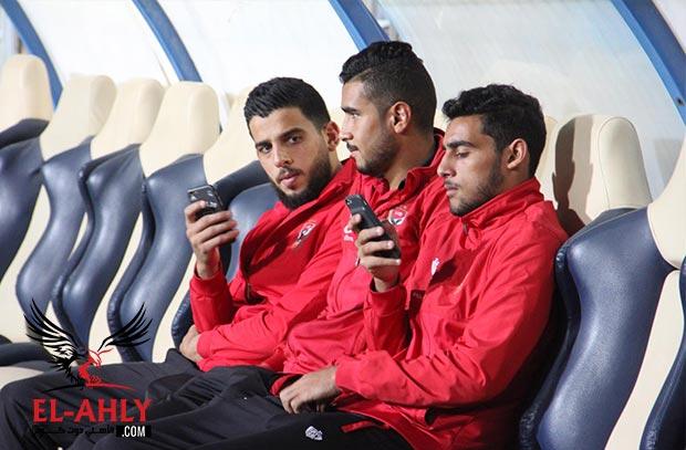 شاهد الظهور الأول للشامي ومحمد طارق في قائمة الأهلي
