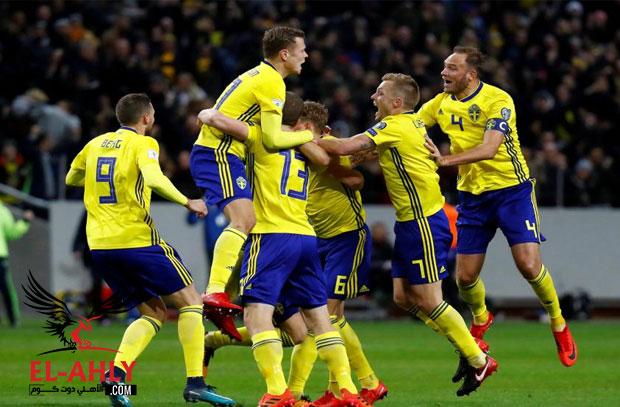 للمرة الأولى منذ 60 عام.. إيطاليا تفشل في التأهل لكأس العالم والسويد الي المونديال