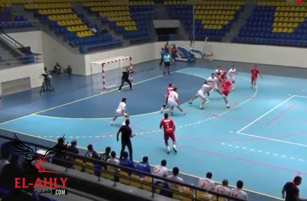 الأهلي يهزم الزمالك في دوري كرة اليد