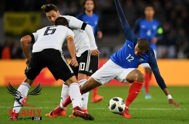 في تجربة لصدام الجبابرة .. فرنسا تتعادل مع ألمانيا