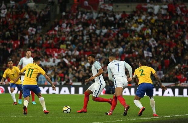 البرازيل تتعادل سلبياً مع إنجلترا في لقاء ودي بويمبلي