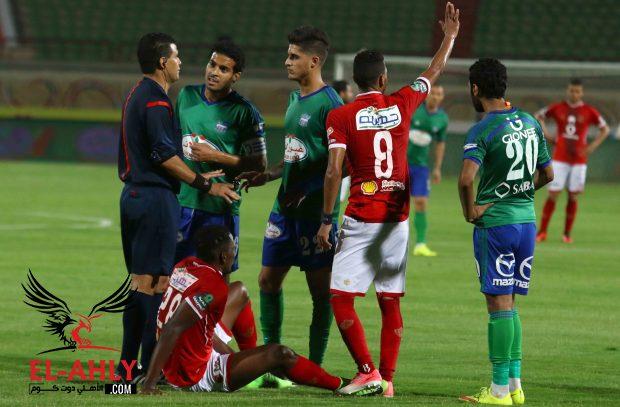 اختيار محمد فاروق لقيادة مباراة الأهلي والداخلية
