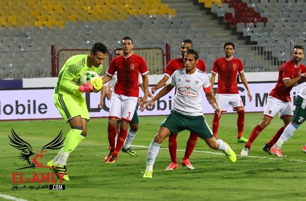 تشكيل الأهلي الرسمي لمواجهة النادي المصري بالدوري العام