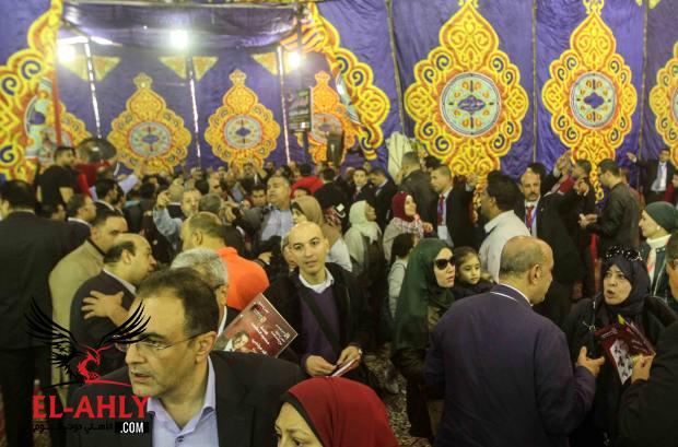 متابعة حية ومتواصلة لانتخابات الأهلي: رئيس اللجنة المشرفة يطلب اخلاء الخيمة لبدء الفرز