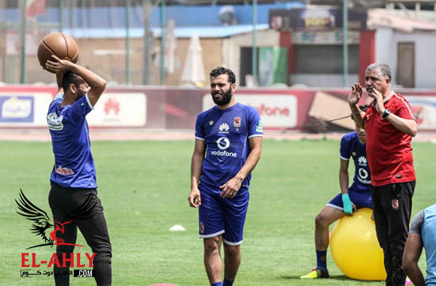 مران المستبعدين عن مباراة إنبي: معوض يقود 9 لاعبين ورباعي الفريق يخضع للتأهيل