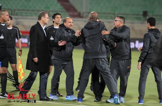 بسبب أحداث مباراة الأهلي والمقاصة: إيقاف أيمن رجب 8 مباريات وغرامة مالية