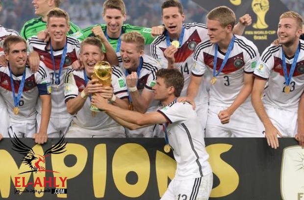 الفوز بكأس العالم يساوي 350 ألف يورو لكل لاعب ألماني