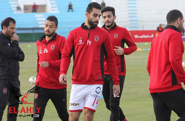 مران الأهلي اليوم: سعد يبدأ الجري وراحة نجيب وتدريب استشفائي للأساسيين