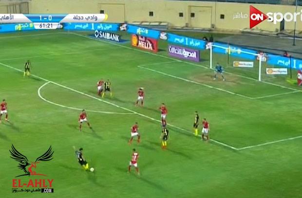 في دقيقة واحدة الأهلي يتقدم وصاروخ مدوي يتعادل لدجلة ويشعل المباراة