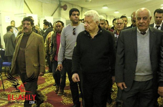 مرتضى منصور يعين معتمد جمال ويعلن من سيقود الزمالك أمام الأهلي
