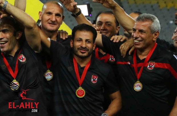 معوض لـ El-Ahly.com: لا نحتاج لمهاجم مع عودة عمرو جمال والعالمي مجرد إجتهادات