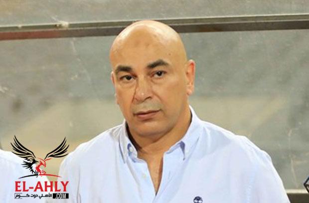 إيقاف حسام حسن أربع مباريات بعد إشارته لطارق يحيي