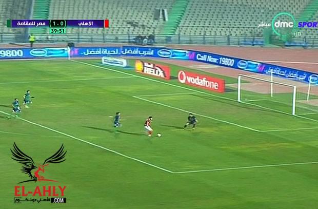 وليد ازارو يهدر انفراد مجدداً .. المغربي يضيع فرصة التعادل