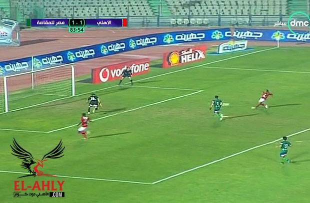 سحر اجايي الخاص يقود الأهلي للهدف الثاني امام المقاصة