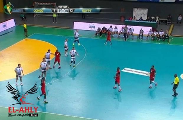 مصر تهزم الكونغو وتنتظر الفائز من المغرب والجابون بنصف نهائي بطولة أفريقيا
