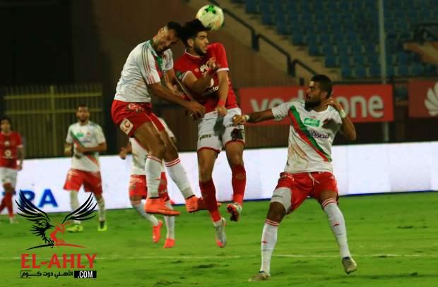 هشام محمد بجوار السولية في وسط الملعب بتشكيل البدري أمام الرجاء