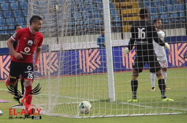 هدف تاريخي في 5 حقائق عن فوز الأهلي على الرجاء بثلاثية في الدوري