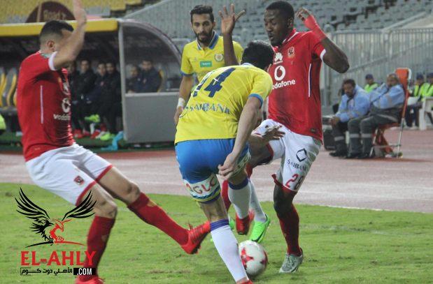 التعادل السلبي يحسم الشوط الأول من مباراة الأهلي والإسماعيلي